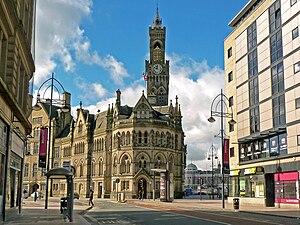 English: Bradford Town Hall