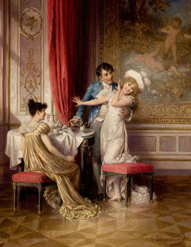 Carl Schweninger the Younger - Not willing