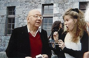 Cornelius Castoriadis avec la chorégraphe Clara Gibson Maxwell