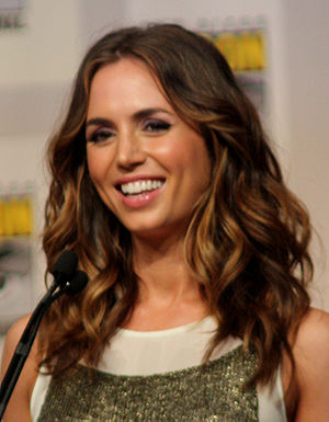 Eliza Dushku at the 2009 Comic Con in San Diego.