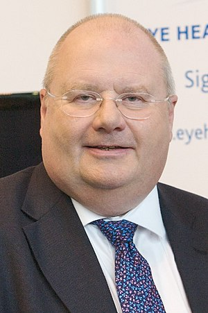 English: Eric Pickles, British politician and ...