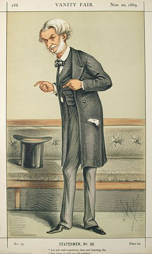 Statesmen No.36: Caricature of The Rt Hon Lord...