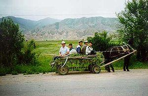 Kirgisien pferdewagen.jpg