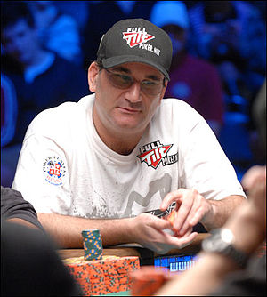 English:Mike Matusow at the 2008 World Series ...