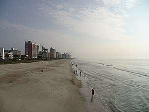 Myrtle Beach in South Carolina