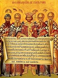 Costantino fra i Padri conciliari al primo Concilio di Nicea