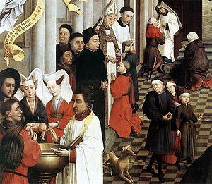 English: Rogier van der Weyden: Seven Sacramen...