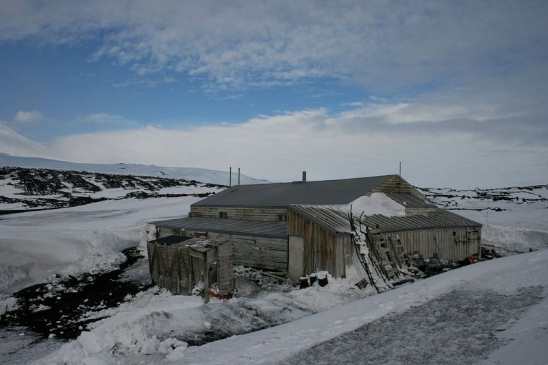 Scott's hut at Cape Evans