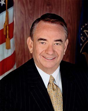 Press photo of Secretary of Health and Human S...