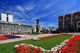 Памятник Петру Столыпину (Саратов) — Википедия
