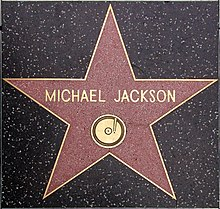 Michael Jackson inducted in Hollywood Walk Of Fame
