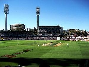 Late on day 2, 3rd England Australia Test Dece...
