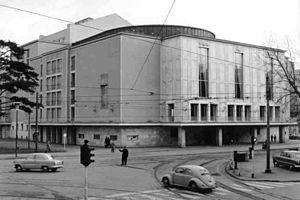 Opernhaus Düsseldorf in 1959