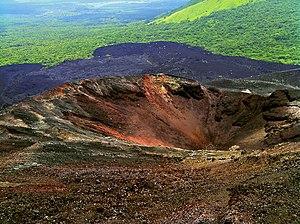 Основний кратер вулкана (2011 рік)