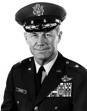 English: Brigadier General Chuck Yeager