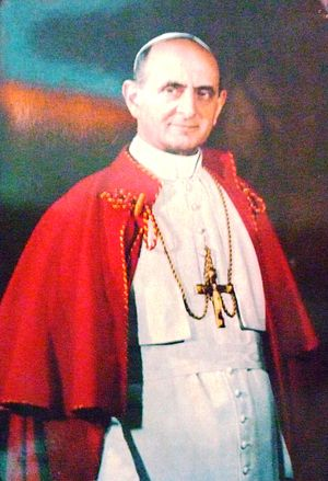 English: Pope Paul VI