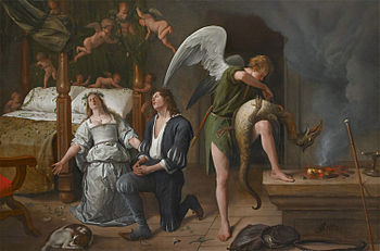 Jan Steen's painted two more scenes from the B...