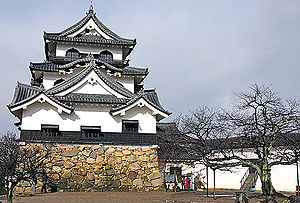 English: Hikone Castle in Shiga Prefecture, Ja...