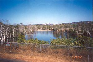 Kakadu's Ranger Uranium Mine viewed from the road