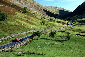English: Kirkstone Pass In the shadow of Red S...