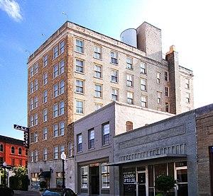 The La Salle Hotel located at 30.6730° -96.373...