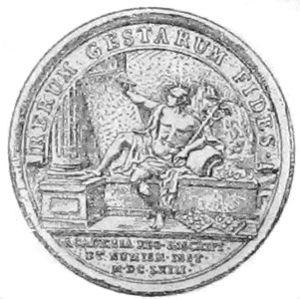 Français : Médaille de l'Académie des inscript...