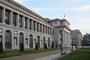 Prado Museum, in Madrid (Spain).