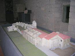 Plastico dell'abbazia