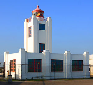Point Hueneme Lighhouse was first used in 1941...