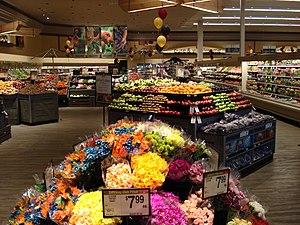 Safeway Store Lifestyle look Produce Dept.