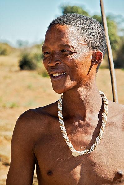 San (Bushman) Tribesman