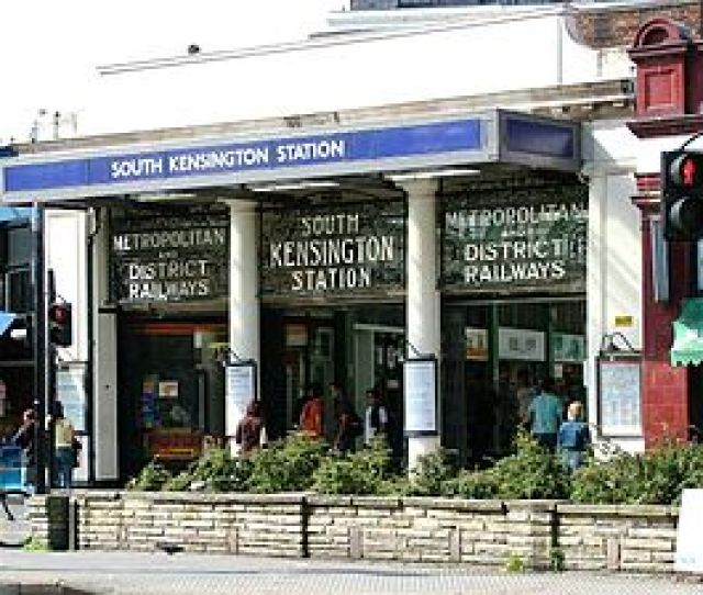 South Kensington Tube Station From Wikipedia