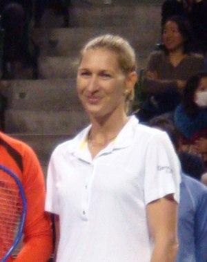 "Steffi Graf at ""Dream Match 2008"", March 15, 2..."