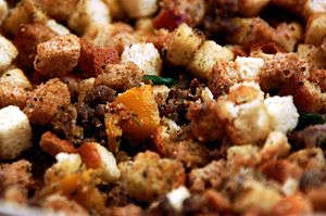 Stuffing for mushrooms and other dishes.