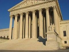 Abortion US Supreme Court building