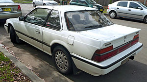 English: 1986–1987 Honda Prelude Si coupe, pho...
