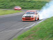 Drifting AE86 (Corolla-Levin)