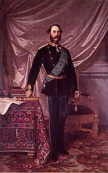 Portrait of Christian IX by Hans Olrik
