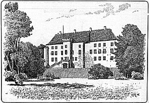 Dragsholm Castle in 1896