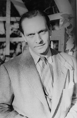 Portrait of Fredric March, in (1939 May 28)