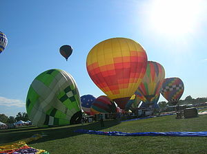 English: Great Forest Park Balloon Race '07
