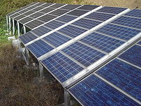 A photovoltaic array is a linked assembly of P...