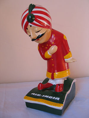 Mascotte Air India / Air India Mascot