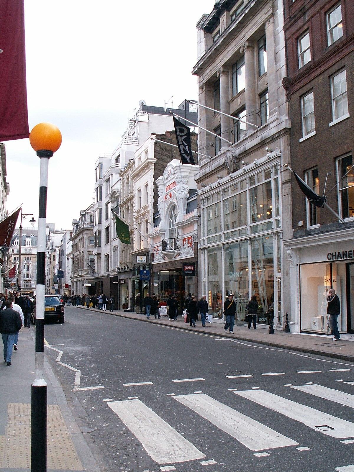 Bond Street Wikipedia