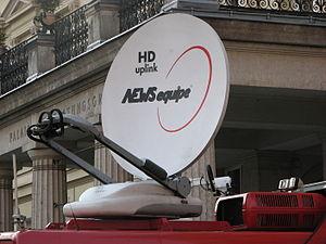 Deutsch: Ü-Wagen für HDTV-Satellitenübertragun...