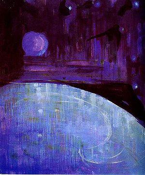 Painting Pasaulio sutvėrimas IV (Creation of t...