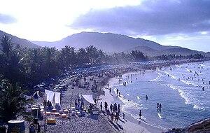 English: Playa Parguito, Margarita Island.