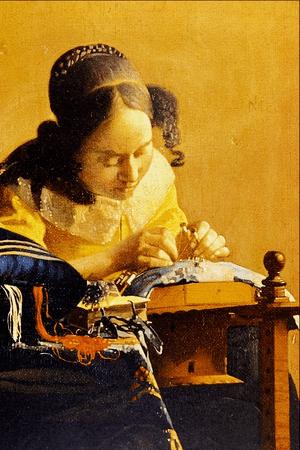 The Lace Maker - Jan Vermeer van Delft