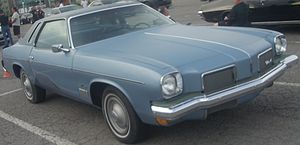 1973 Oldsmobile Cutlass Supreme photographed i...