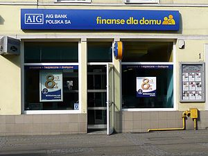 Polski: Oddział AIG Bank Polska w Bydgoszczy, ...